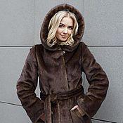 Одежда handmade. Livemaster - original item Coat by mink mahogany. Handmade.