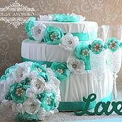 Свадебный салон handmade. Livemaster - original item Wedding set of