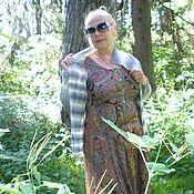 Одежда ручной работы. Ярмарка Мастеров - ручная работа Кофта вязаная спицами на пуговицах. Handmade.