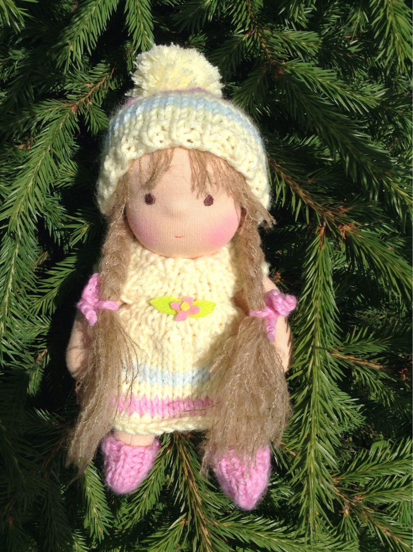Кукла по вальдорфским мотивам 20 см, Вальдорфские куклы и звери, Сызрань,  Фото №1