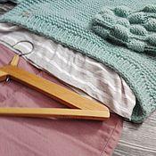 Одежда ручной работы. Ярмарка Мастеров - ручная работа Мятный пуловер. Handmade.