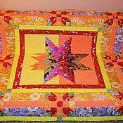 """Для дома и интерьера ручной работы. Ярмарка Мастеров - ручная работа Покрывало-одеяло """"Звезда"""". Handmade."""