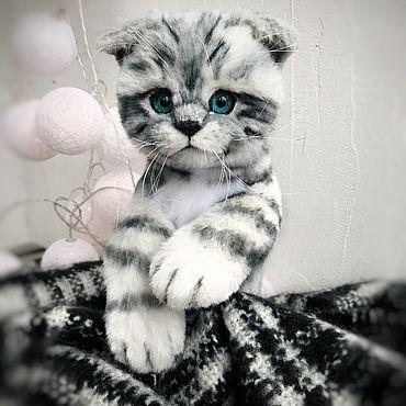 Куклы и игрушки ручной работы. Ярмарка Мастеров - ручная работа Котёнок Фрай. Handmade.