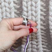 Материалы для творчества handmade. Livemaster - original item Knitting ring. Handmade.