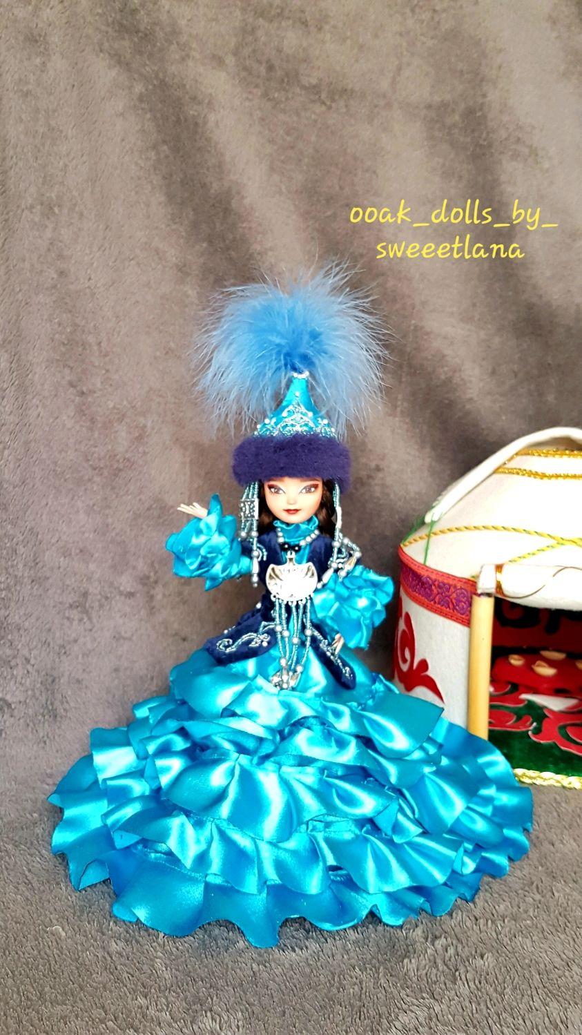Кукла в национальном Казахском костюме – заказать на ...