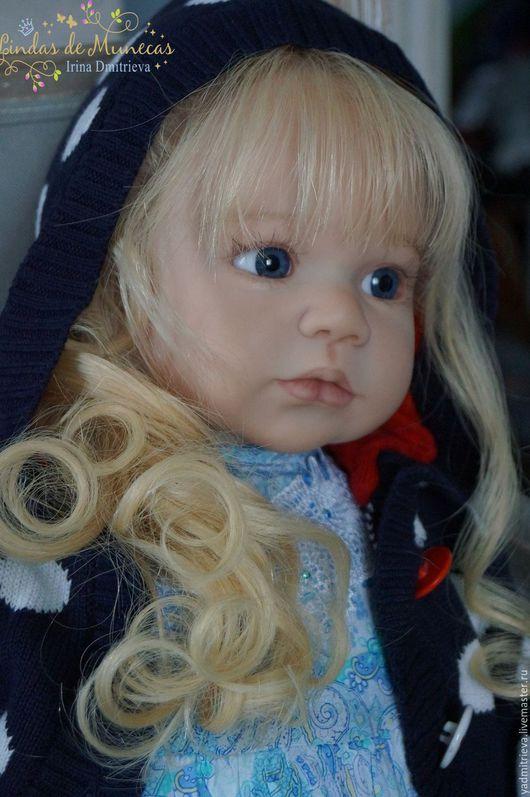Куклы-младенцы и reborn ручной работы. Ярмарка Мастеров - ручная работа. Купить кукла реборн Сонечка 4. Handmade. Голубой