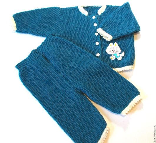 """Одежда для девочек, ручной работы. Ярмарка Мастеров - ручная работа. Купить Детский костюм теплый """"Котенок"""". Handmade."""