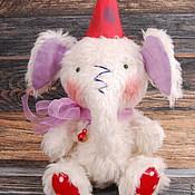 Куклы и игрушки ручной работы. Ярмарка Мастеров - ручная работа Слоник Тедди. Handmade.