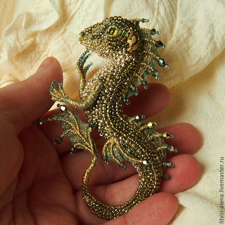 Бисер своими руками дракон 70