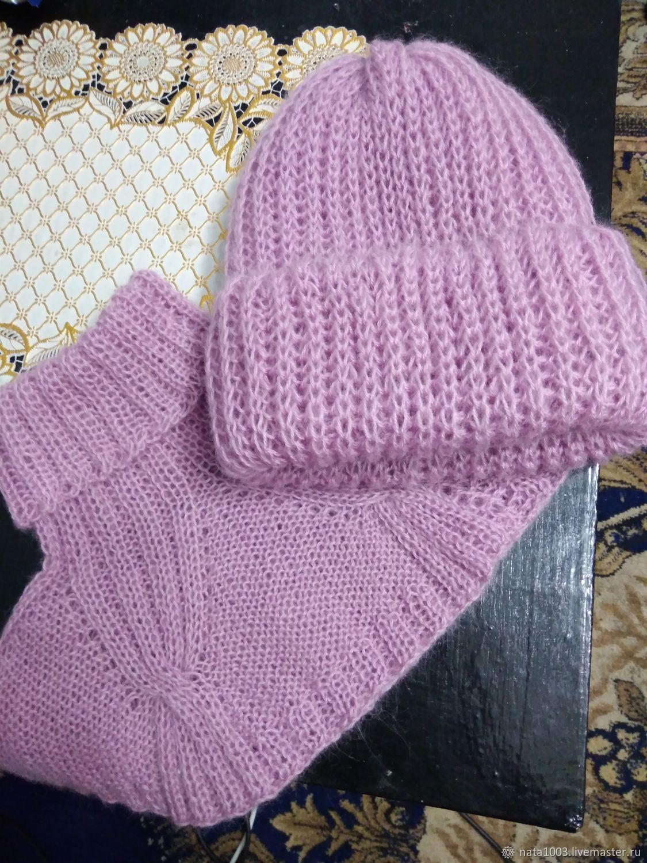 комплект шапка + манишка, Шапки, Зея, Фото №1