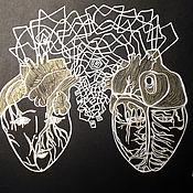 Картины и панно handmade. Livemaster - original item From heart to heart. Handmade.