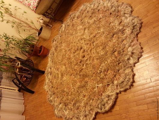 Текстиль, ковры ручной работы. Ярмарка Мастеров - ручная работа. Купить Шерстяной ковер по мотивам Патриции Кристофферсен. Handmade. Комбинированный