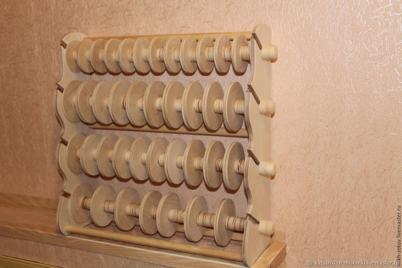 Подставка на 39 катушки, Органайзеры для рукоделия, Пенза, Фото №1
