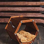 Комоды ручной работы. Ярмарка Мастеров - ручная работа Домик-тумба Industrial Craft Loft. Handmade.