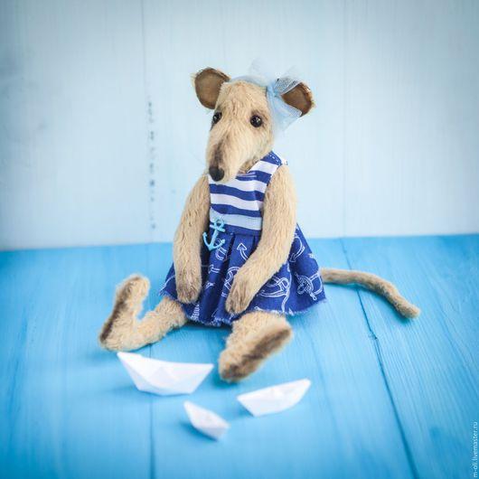 Мишки Тедди ручной работы. Ярмарка Мастеров - ручная работа. Купить Крыска Апрелька. Handmade. Бежевый, ручная авторская работа