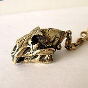 """Аксессуары ручной работы. Ярмарка Мастеров - ручная работа брелок """"череп льва"""". Handmade."""