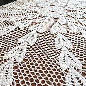 Для дома и интерьера ручной работы. Ярмарка Мастеров - ручная работа Скатерть белая большая. Handmade.