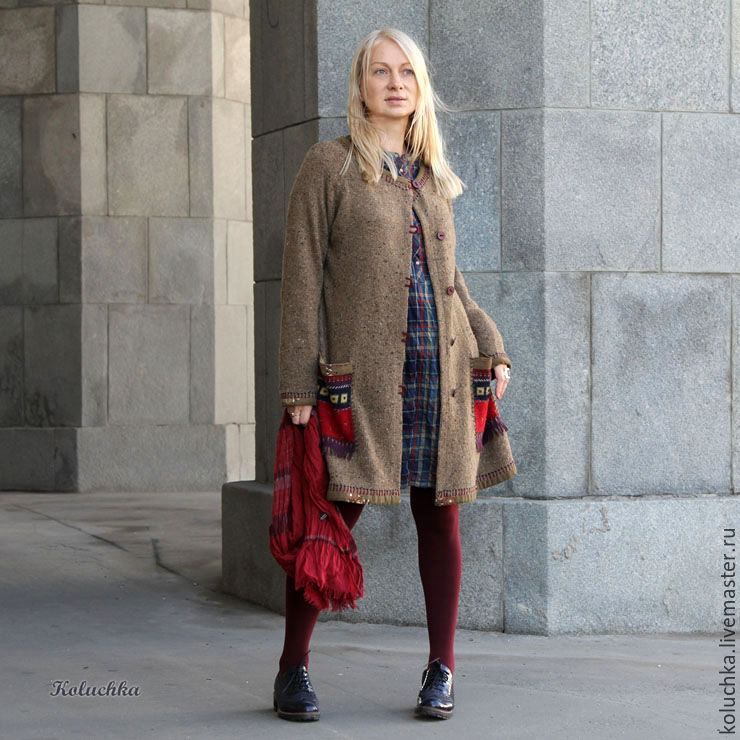 Coat no pockets anywhere shop online on livemaster for Outer cloth