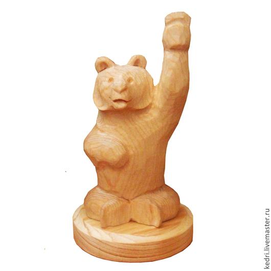 Статуэтки ручной работы. Ярмарка Мастеров - ручная работа. Купить Мишка 3. Handmade. Желтый, медведь, сувенир из россии