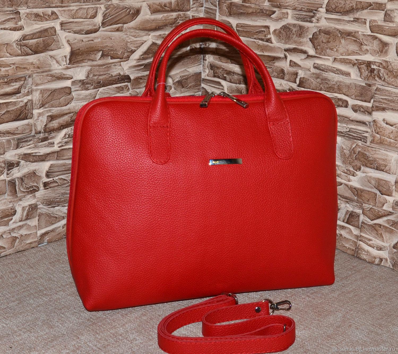 Модель 159  Деловая сумка из кожи Сумка формат А4, Классическая сумка, Богородск,  Фото №1