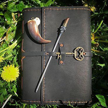 Stationery handmade. Livemaster - original item Soft book - notebook for records. Handmade.