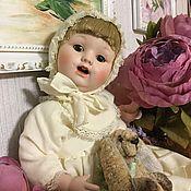 Куклы и пупсы ручной работы. Ярмарка Мастеров - ручная работа Кукла реплика антикварной. Handmade.