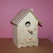 Для домашних животных, ручной работы. Ярмарка Мастеров - ручная работа Скворечник для птиц. Handmade.