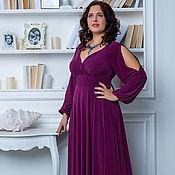 Вечернее платье макси большого размера 52-54