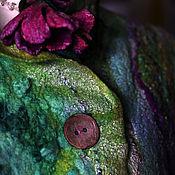 """Одежда ручной работы. Ярмарка Мастеров - ручная работа Жакет из шерсти и шелка """"На воскрестные службы"""". Handmade."""