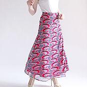 Одежда handmade. Livemaster - original item Skirt long Abstraction. Handmade.