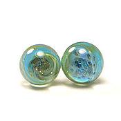 Украшения handmade. Livemaster - original item Earrings studs