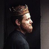 Головные уборы ручной работы. Ярмарка Мастеров - ручная работа Королевская корона. Handmade.