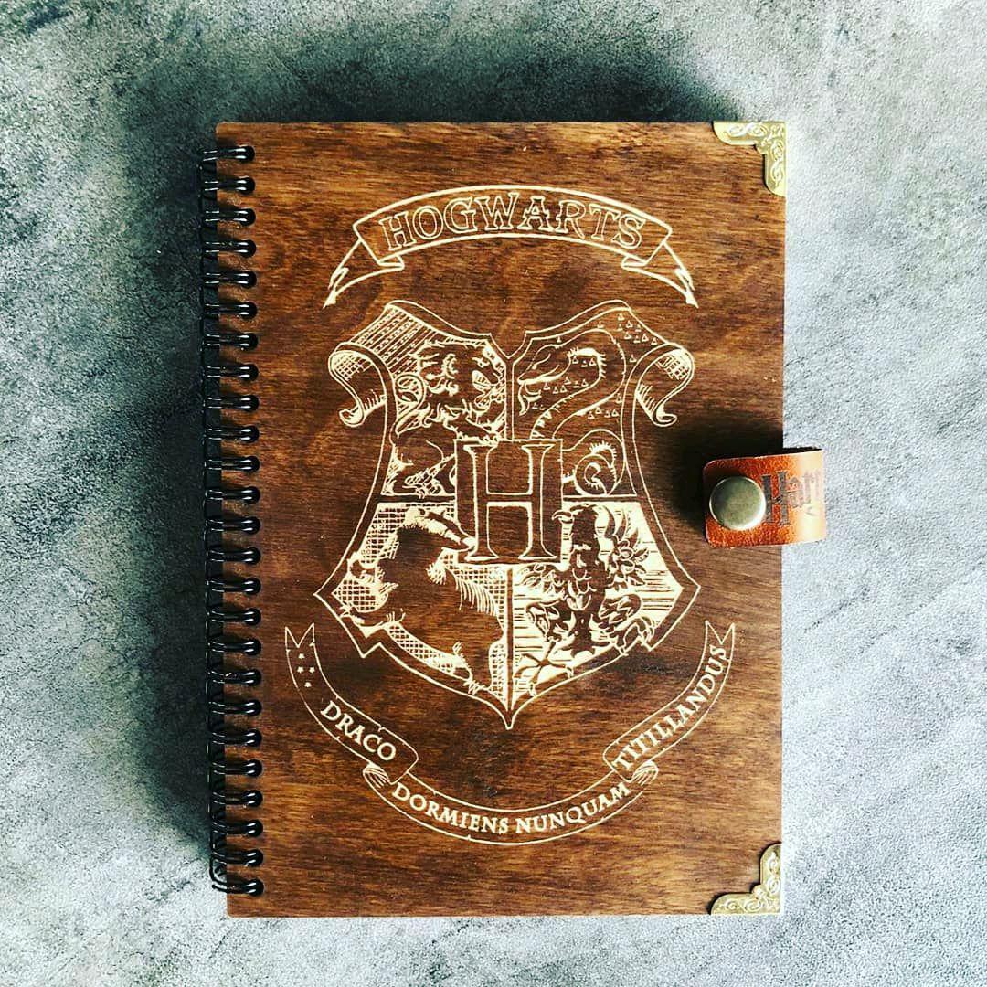 Harry Potter Hogwarts Harry Potter Wooden notebook / Sketchbook, Notebooks, Krasnodar,  Фото №1