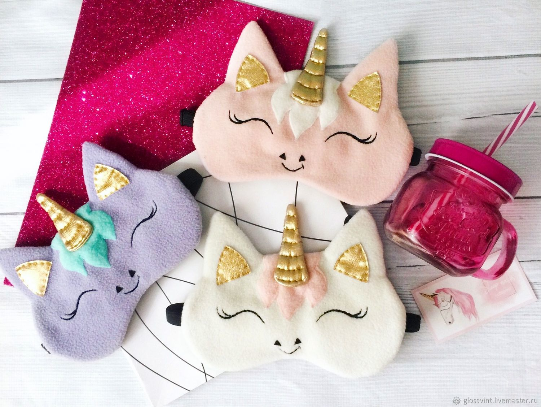 Sleep mask 'Unicorn', Sleep masks, Vladivostok,  Фото №1
