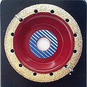 Материалы для творчества ручной работы. Ярмарка Мастеров - ручная работа Обдирочный диск нормал раунд. Handmade.