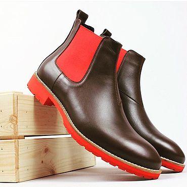 Обувь ручной работы. Ярмарка Мастеров - ручная работа Челси Обувь ручной работы. Handmade.