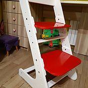 Стулья ручной работы. Ярмарка Мастеров - ручная работа Детский растущий стульчик. Handmade.