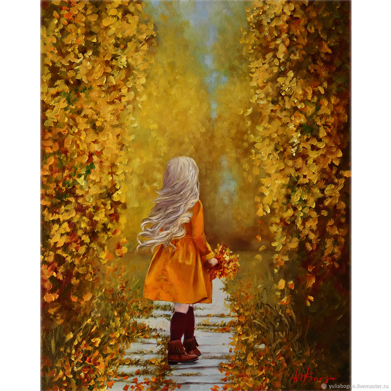 Oil painting ' Autumn is coming...', Pictures, Belorechensk,  Фото №1