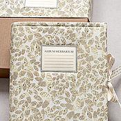 Канцелярские товары handmade. Livemaster - original item Album for herbarium specimens Between newspaper sheets (A4, 30 plants). Handmade.