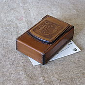 Сувениры и подарки handmade. Livemaster - original item Cigarette case. sigaretta. Personalized gift. Monogrammed. Handmade.