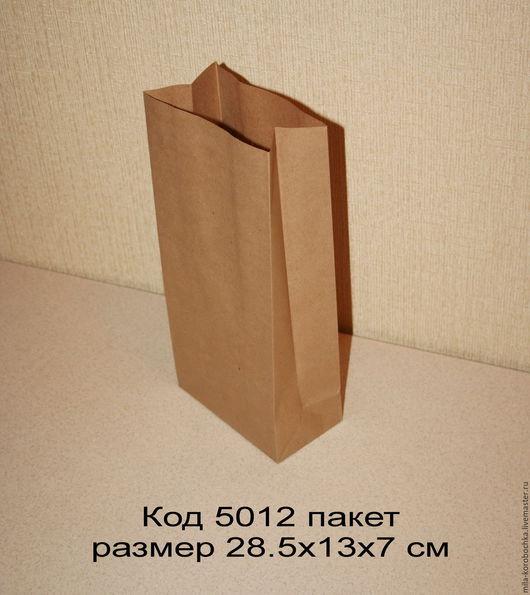 Упаковка ручной работы. Ярмарка Мастеров - ручная работа. Купить Крафт пакет  код 5012  размер 28.5х13х7 см. Handmade.