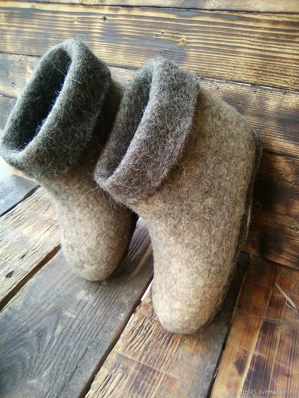 Chuni on felt sole, Slippers, Kurgan,  Фото №1