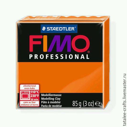 Для украшений ручной работы. Ярмарка Мастеров - ручная работа. Купить Оранжевый (4) - Fimo Professional. Handmade. Fimo, professional