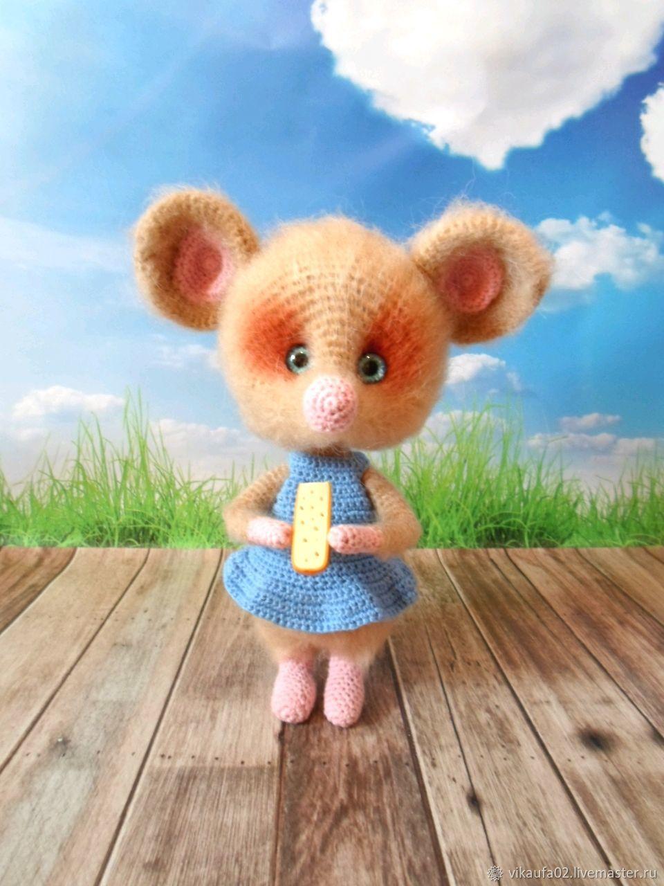 Toys: Mouse baby, Stuffed Toys, Ufa,  Фото №1