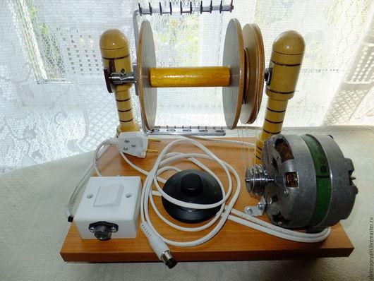 Другие виды рукоделия ручной работы. Ярмарка Мастеров - ручная работа. Купить электропрялка. Handmade. Электропрялка, изделия из шерсти, пластик