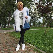 """Одежда ручной работы. Ярмарка Мастеров - ручная работа Куртка-парка """" Лебедь Белая """". Handmade."""