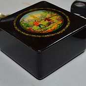 handmade. Livemaster - original item Box the Farmer and Laborer Ovchinnikov Mstera 50 years. Handmade.