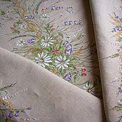 Свадебный салон handmade. Livemaster - original item Big Anniversary Wedding set linen textile with painted. Handmade.