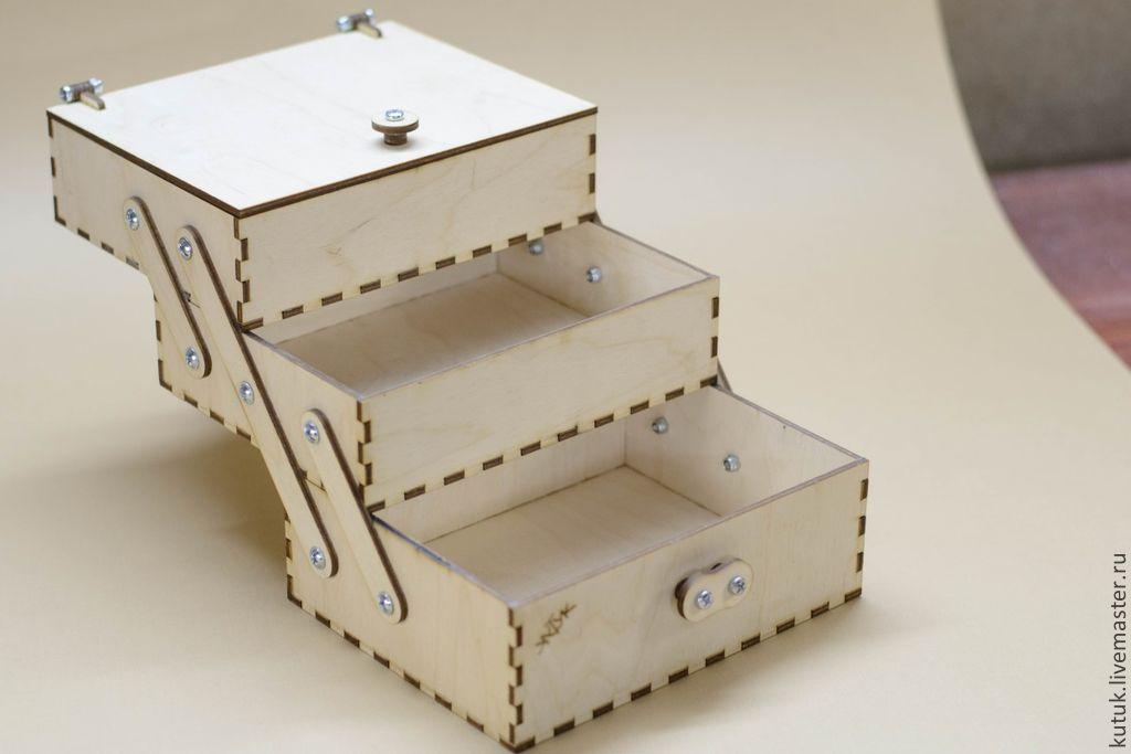 Деревянный ящик для мелочей своими руками