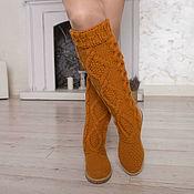 """Обувь ручной работы handmade. Livemaster - original item Boots demi-season """"Anna"""". Handmade."""